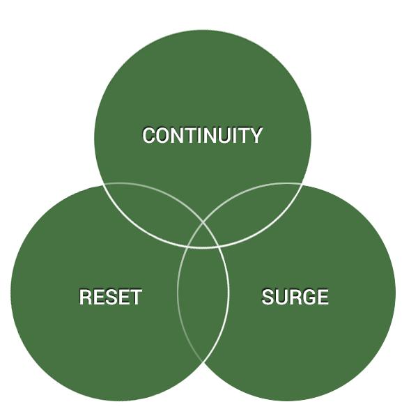 Surge, Rest, Continuity, E.A. Berg